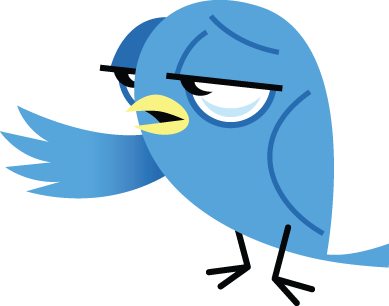 Sad Twitter Bird