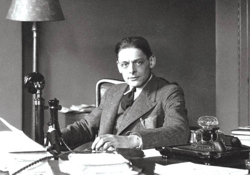 Ts eliot novel writing essay