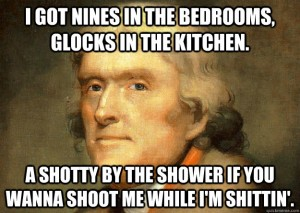 Thomas Jefferson Second Amendment