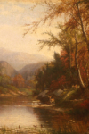 painting by Joseph Antonio Hekking, courtesy of new paltz art museum website