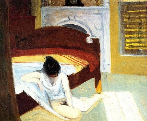 "Edward Hopper ""Summer Interior"""