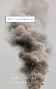 Hilbig The Sleep of the Righteous cover