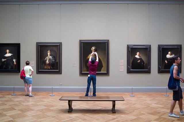 camera photo art museum
