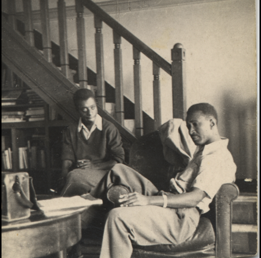 Murray and James Baldwin (c. 1950)