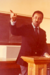 Mr. Murray teaching, 1970