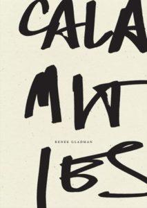 Calamities Renee Gladman cover