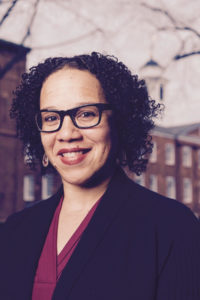 Professor Marisa J. Fuentes, author of Dispossessed Lives: Enslaved Women, Violence, and the Archive