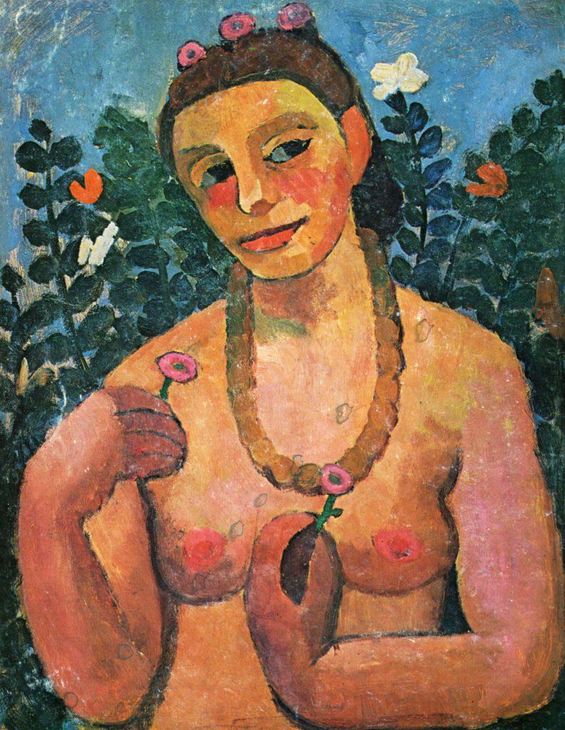 Paula Modersohn-Becker painting