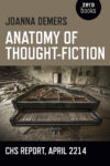 Anatomy of Thought-Fiction Joanna Demers cover