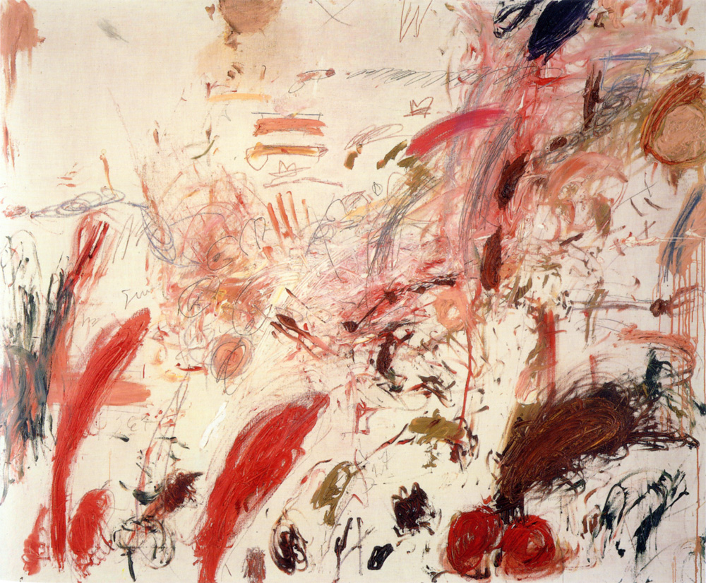 Cy twombly 1928 2011 full stop for Artistic mural works