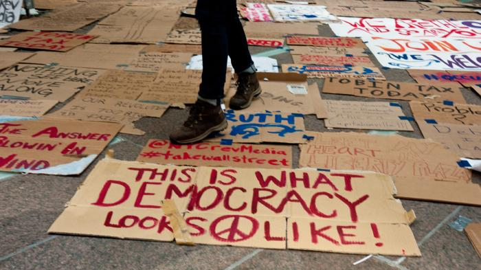 This Is What Democracy Looks Like >> This Is What Democracy Looks Like Sign Full Stop