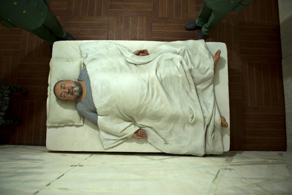 Detail from 'S.A.C.R.E.D.', an artwork by Ai Weiwei