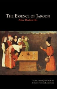 The Essence of Jargon cover