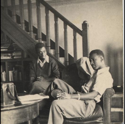 Murray and James Baldwin in 1950.© The Albert Murray Trust.