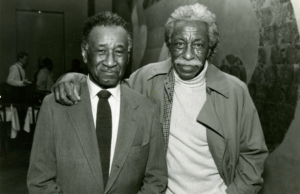 Murray and Gordon Parks (c. 1990). © The Albert Murray Trust.