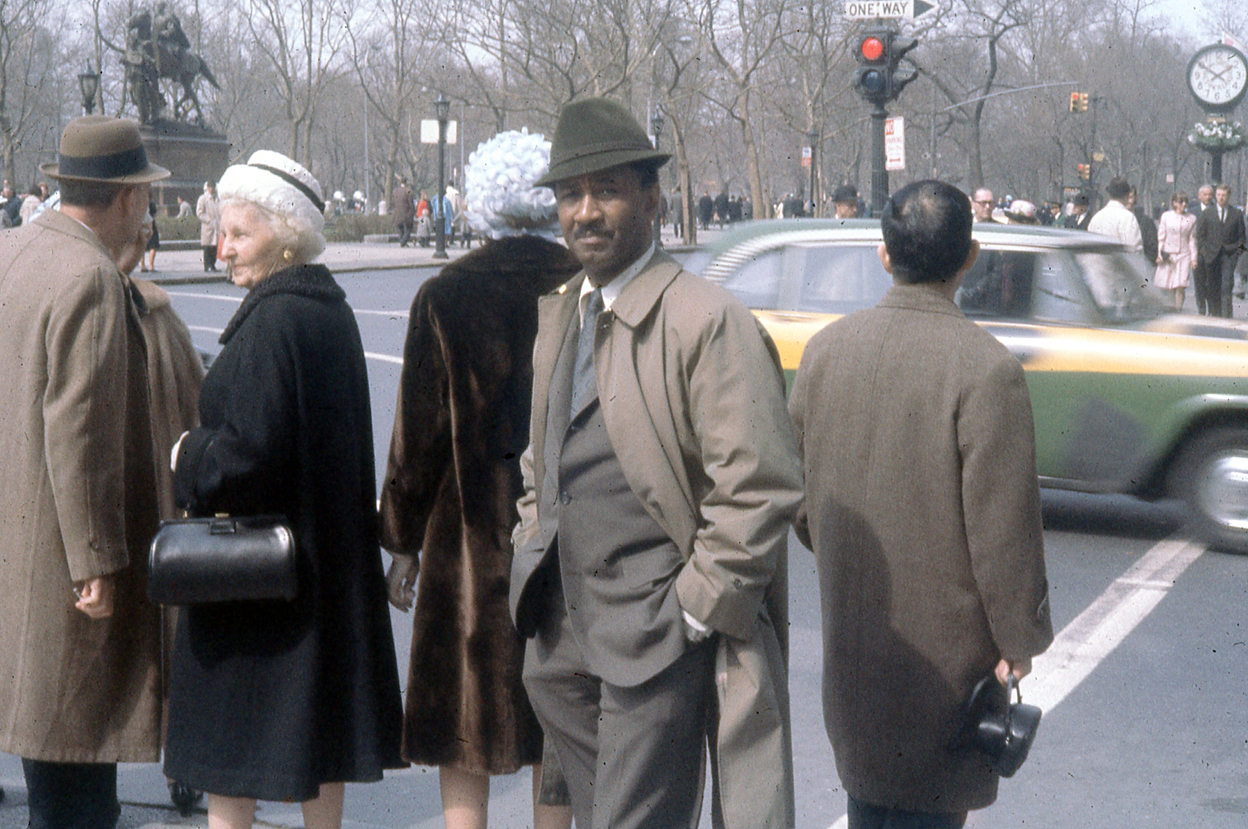 Murray at 59th St. and 5th Avenue, New York, 1960s. © The Albert Murray Trust.