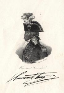 A contemporary portrait of Toussaint Louverture.