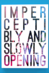 Imperceptibly and Slowly Opening cover