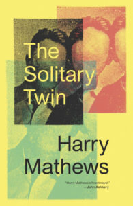 Harry Mathews The Solitary Twin cover
