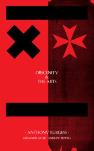 obscenity and the arts anthony burgess cover