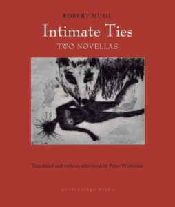 intimate ties robert musil cover