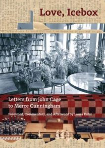 Love, Icebox Letters from John Cage to Merce Cunningham cover