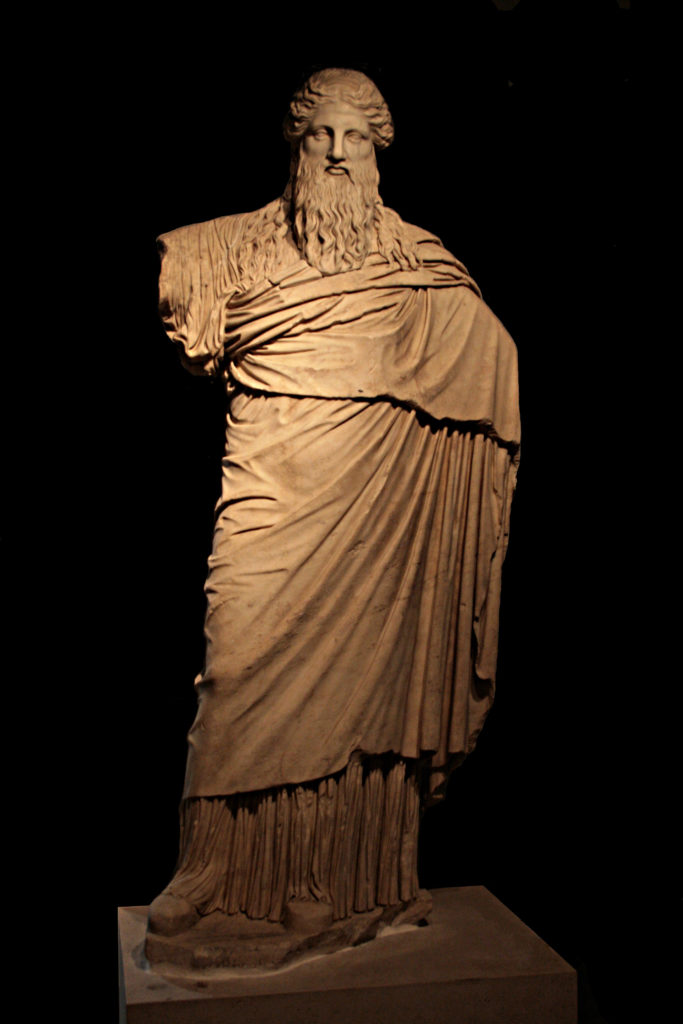 Dionysus-Sardanapalus statue