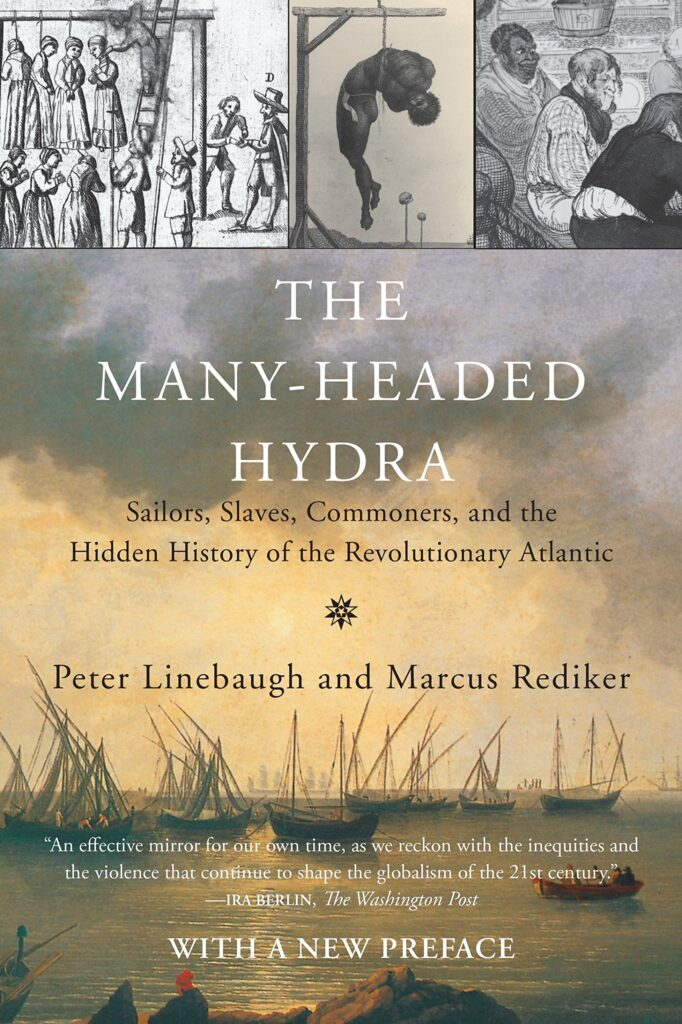 The Many-Headed Hydra book cover.