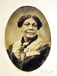 Close-up photograph of Mary Seacole.